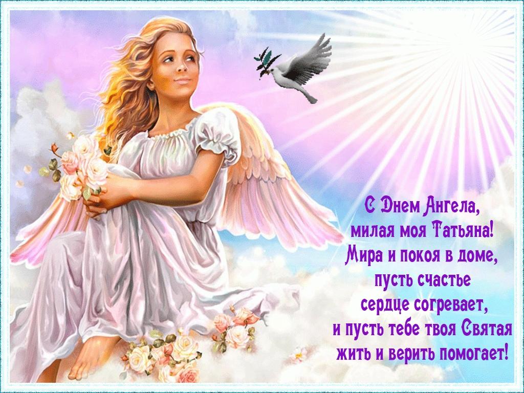 С днем ангела поздравления анимации