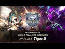 [EN/KO SUB] World Finalists Interview_Tiger.D | Summoners War | 서머너즈워