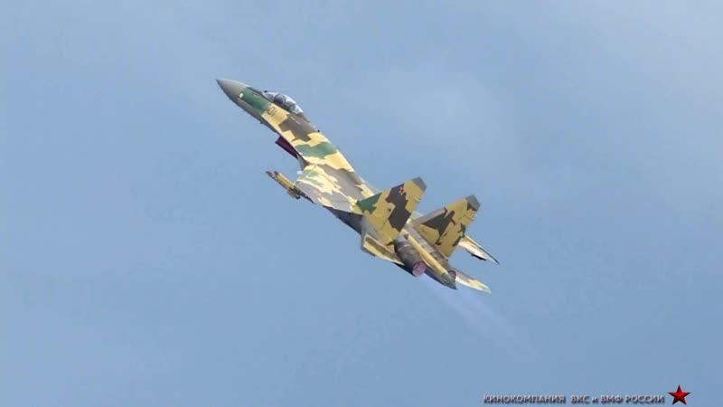 Су-35 Авиаджигитовка Казачья Лезгинка