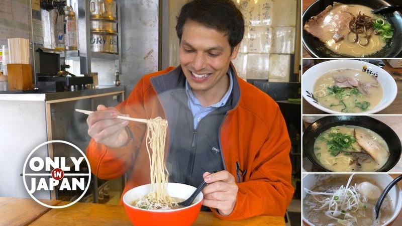 Fukuoka Ramen Eating Spree ★ ONLY in JAPAN