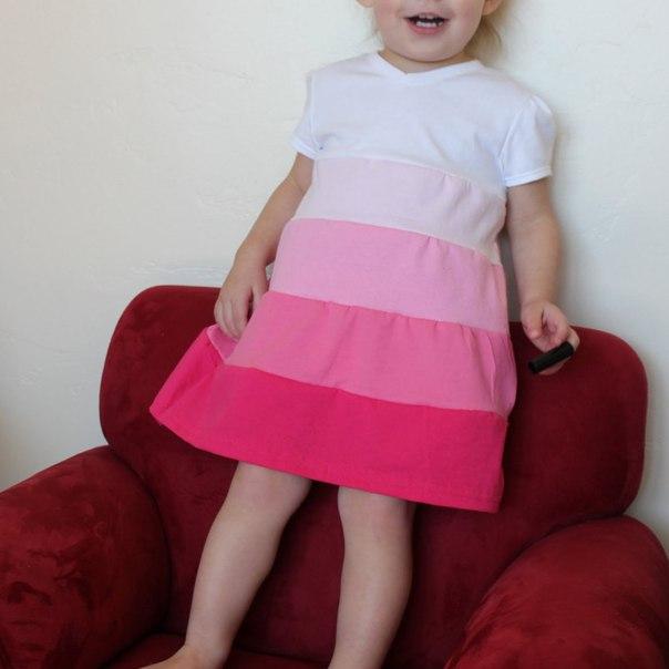 Из чего сшить ребенку платье 709