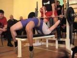 Микиша ВИ Русский жим 75кг на 26, СВ=80,45 кг, 19 02 12