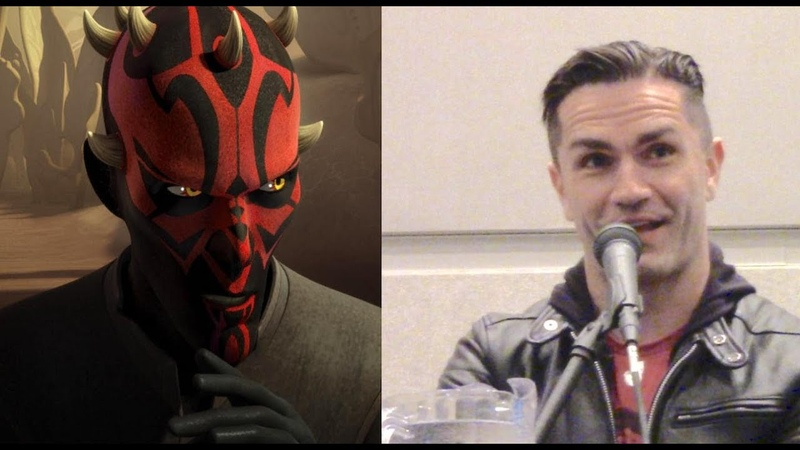 Sam Witwer's Panel at CCR 2019 Darth Maul Star Wars