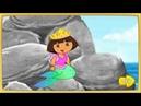 Даша Путешественница спасает мир от мусора Пляжная уборка русалки