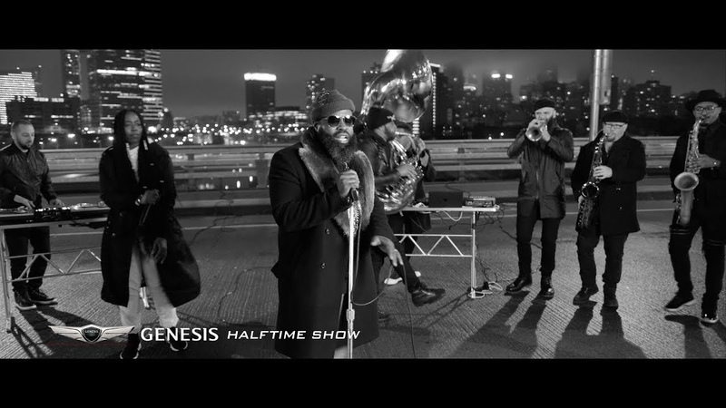 Black Thought Ft Tish Hyman Streets Genesis Halftime Show