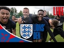 LIVE England Training Ahead of Panama Lions' Den Episode…