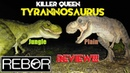 2019 Rebor Killer Queen Tyrannosaurus Review Both Jungle and Plain versions