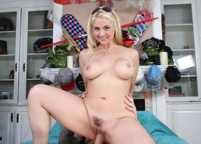 Busting A Huge Load Of Cum In Sarah Vandella's Juicy Pussy!