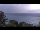 Море закат и сверчки