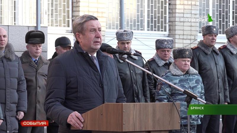 Брянские полицейские отправились в Моздок 19 02 19