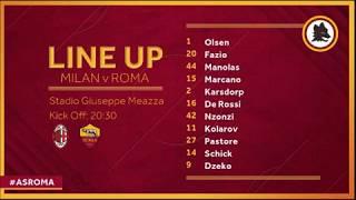 AC Milan 2-1 AS Roma match statistics details player ratings