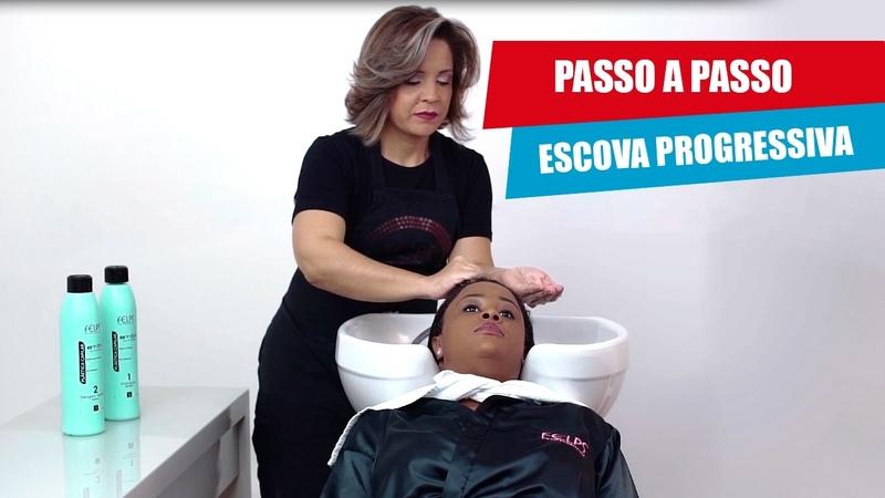 PASSO A PASSO DA PLÁSTICA CAPILAR XBTX ESCOVA PROGRESSIVA