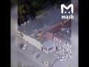 Видео с камер - двойной взрыв на северо-западе Москвы. Пострадали 12 человек. Чудом никто не погиб.