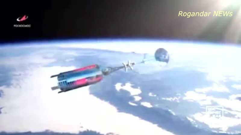 Россия показала облик космического корабля с ядерным двигателем