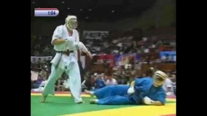 Daido Juku karate DO Кудо лучшие моменты 1 чемпионата мира 2001 год