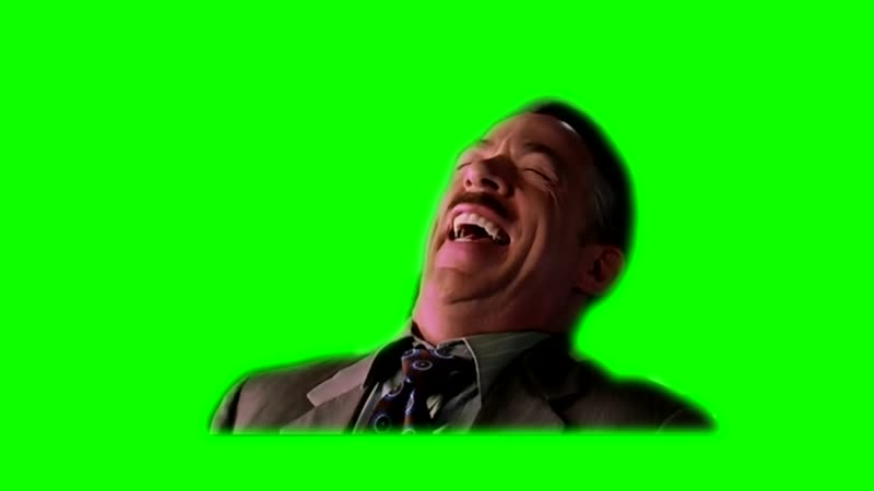 [GreenScreen] Jameson Laugh Greenscreen