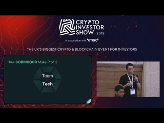 Cobinhood | KR1 Stage | Crypto Investor Show