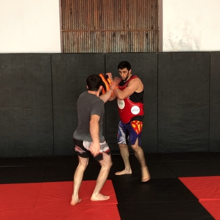 Timur on Instagram Kicks clinch and wrestling drills with @aslan m coachh @dagestan fighter ""