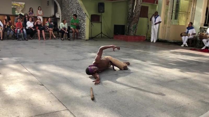 13.01.2018 Havana. Sabado de la Rumba. Conjunto Folklorico Nacional de Cuba. Babalu Aye.