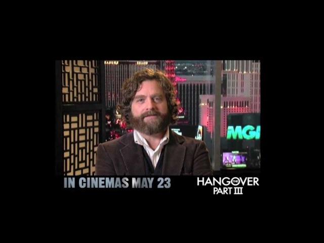 The Hangover Part III (2013) Zach Galifianakis Greeting [HD]