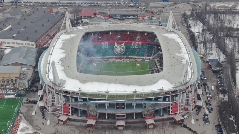 UnitedSouth.ru | Перфоманс и поддержка на матче Локомотив-Краснодар 1:0 (20 тур 18/19. 17 марта)