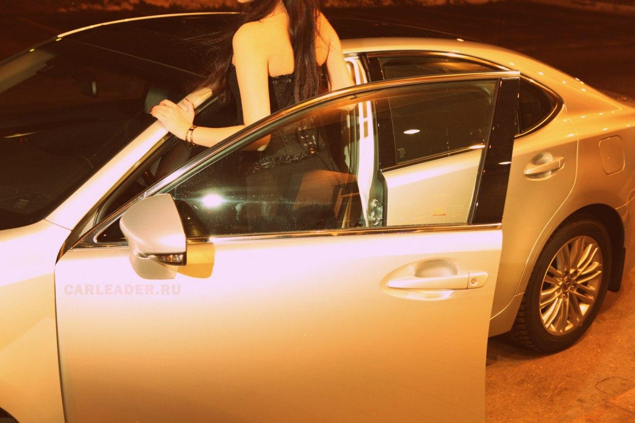 Шумоизоляция дверей Lexus ES 2013