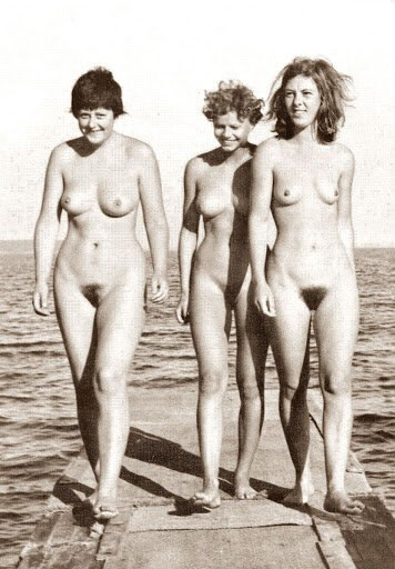 Angela Merkel, young, naked and merry