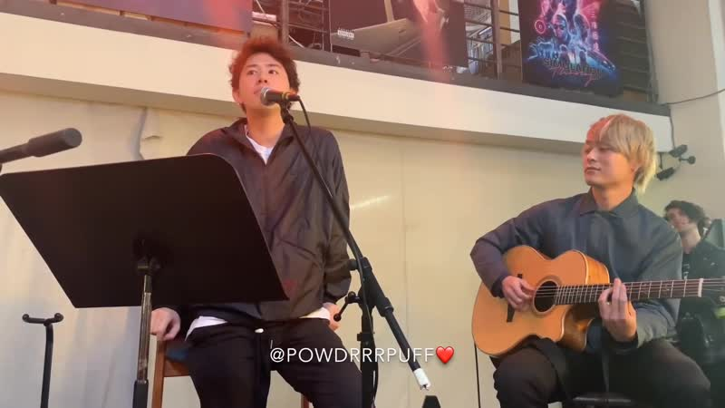 ONE OK ROCK Wasted Nights acoustic perfomance in LA