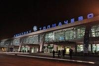 """В новосибирском аэропорту  """"Толмачево """" был задержан пассажир, прилетевший из Киргизии.  Он пытался ввести в страну..."""