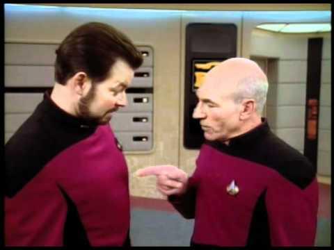 Star Trek: TNG - Finger Fencing