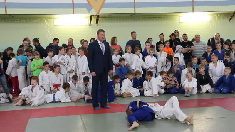 Кравченко Вероника на турнире по дзюдо в Чечерске 24.11.18.