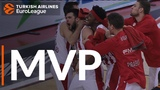 Turkish Airlines EuroLeague Regular Season Round 17 MVP Kostas Papanikolaou, Olympiacos Piraeus