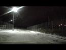 около аэропорта Пулково в Питере машина длинная не смог припарковаться прошлось делать что на видео