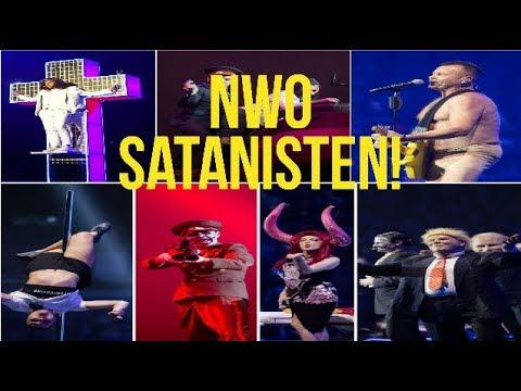 Die Zero Live Show Satanismus als Kunst! Widerliche antichristliche Veranstaltung für die Massen!