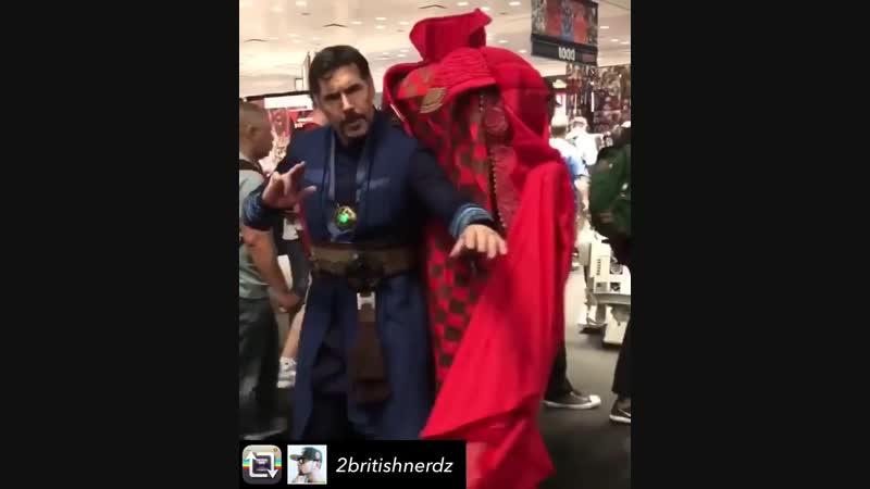 Годный косплей Doctor Strange
