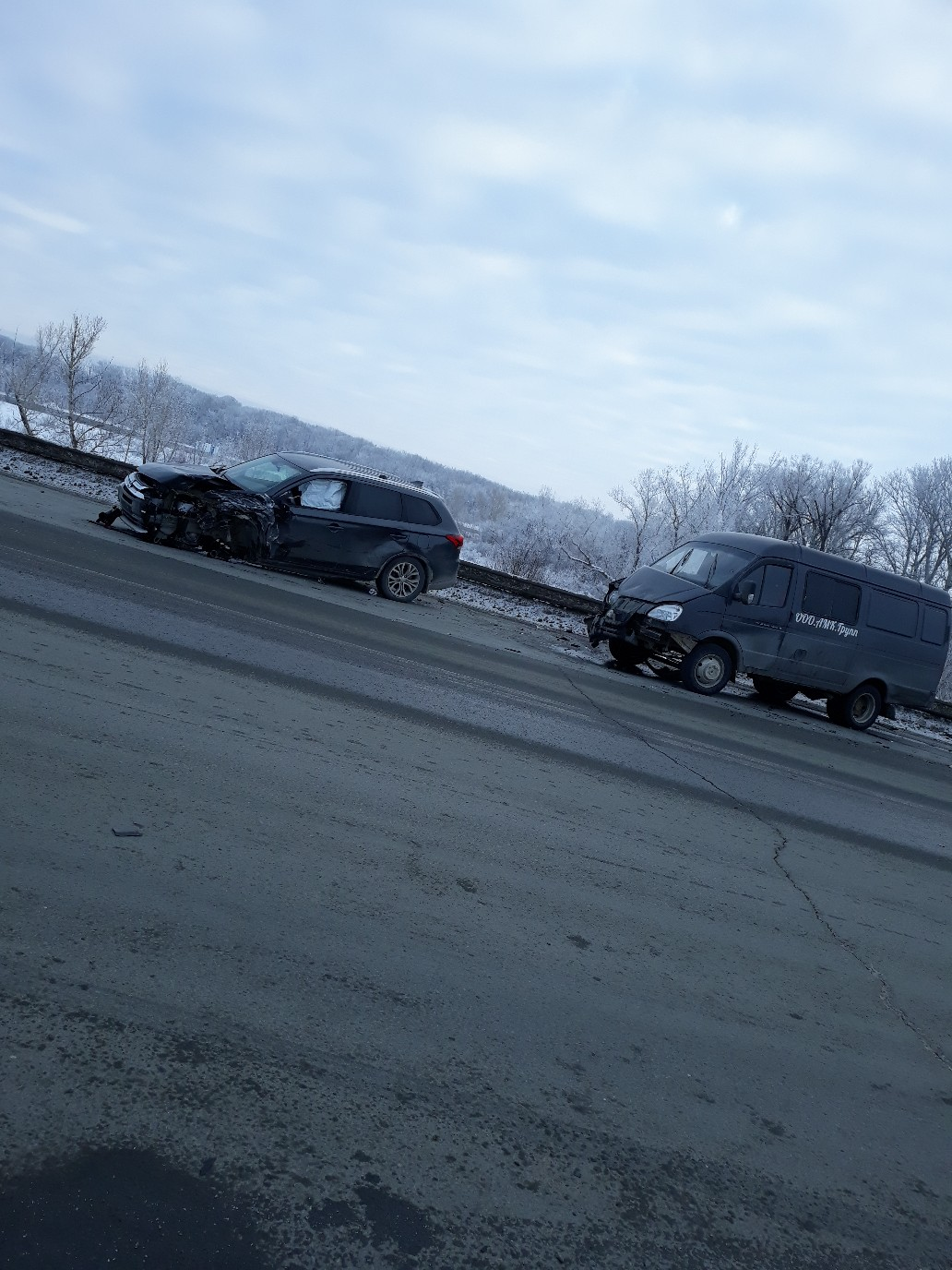 ДТП на Загородном шоссе Оренбурга