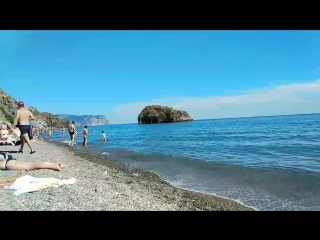 пляж фиолента