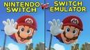 Super Mario Odyssey Nintendo Switch vs Yuzu Emulator on PC Graphical Comparison