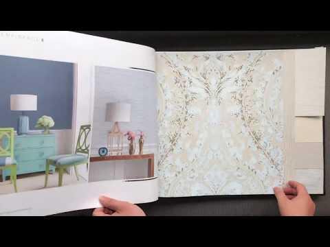A7-61 Simplicity Design Natural Material Non-Woven Wallpaper for Home Decoration