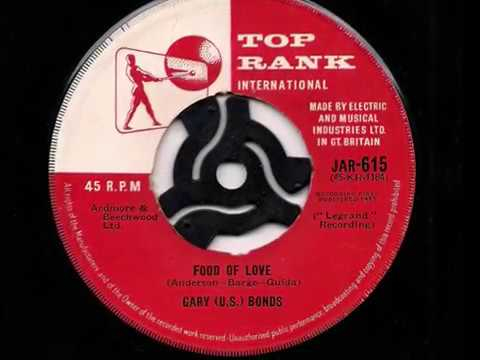 Gary US Bonds Food Of Love 1962 45rpm