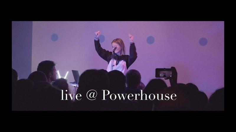 Vika pestrova — Live @ Powerhouse 28.10 (short video)