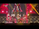 Nine Muses - Santa Baby @ Music Bank Christmas Special 131220