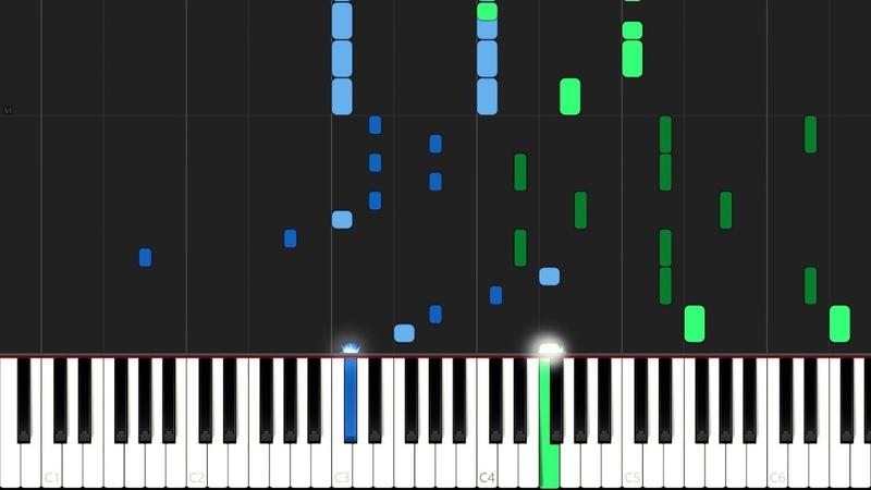 Boulevard Of Broken Dreams - Green Day [Piano Tutorial] (Synthesia) Mr.Meeseeks Piano