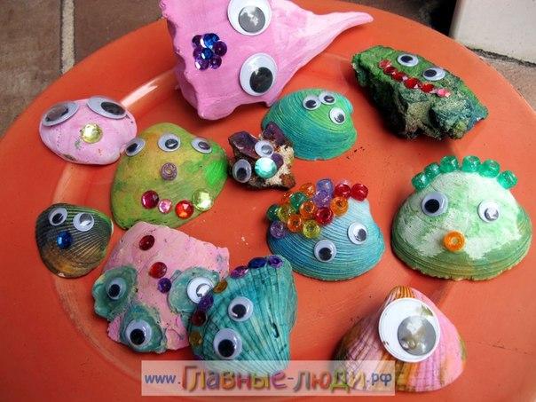 Поделки из ракушек для детей 6 лет своими руками 19