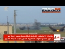 Сирия.20-02-2018.Турецкая артиллерия работает по конвою SDF в районе Африна
