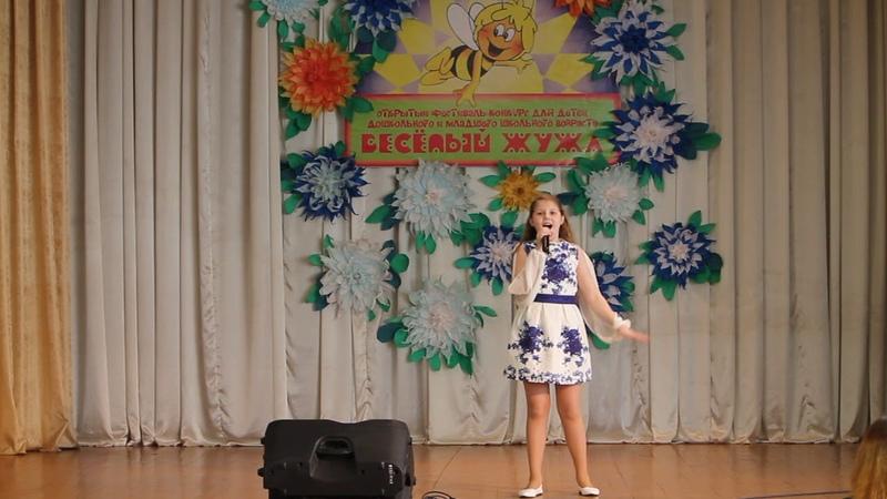 Диана Буткевич (10 лет) - Мне бы птицею стать (образцовая студия эстрадного пения Браво!)