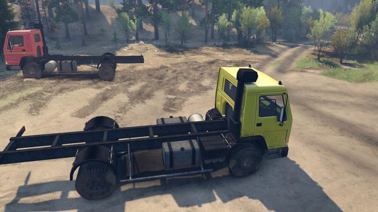 Volvo FL7 для Spintires - Скриншот 1