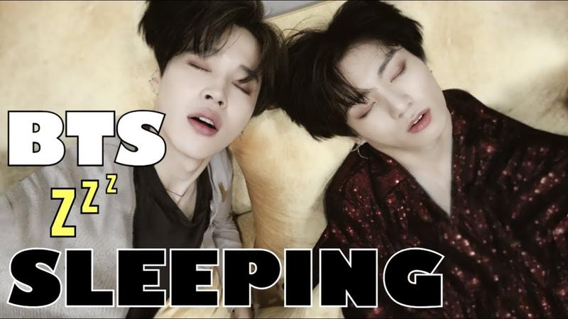 BTS Cute Sleeping Compilation!