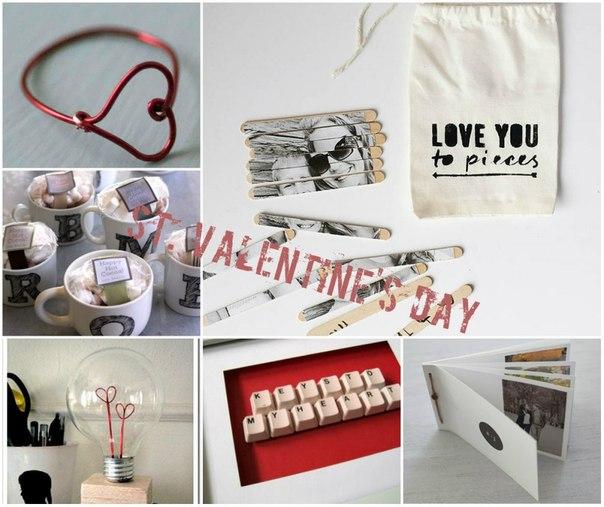 10 идей для самодельных подарков на день Святого Валентина →