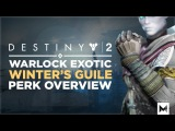 Destiny 2 Exotic Warlock Gauntlets 'Winter's Guile' Perk Overview And Gameplay